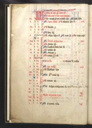 October and November, in a Missal